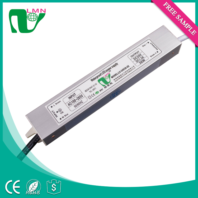 variable 24v led lighting power supply for led