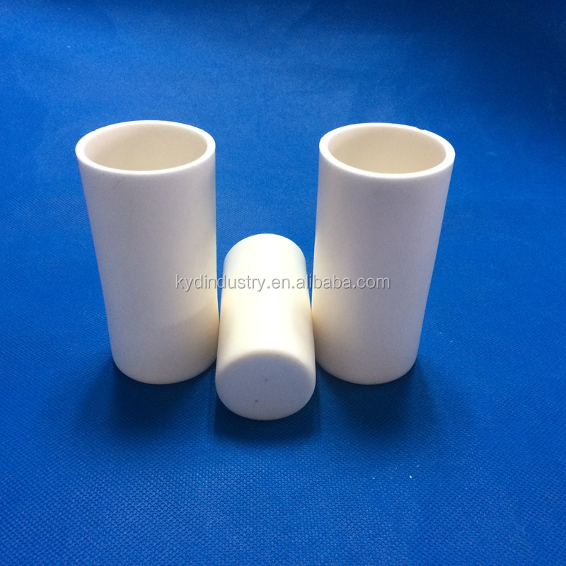 99.9 high temperature alumina crundum crucible