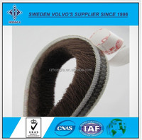 Wool Pile Weather Strip with Self-adhesive