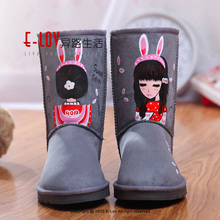 NO.U005G Made In China Hot Sales High Quality Women Winter Boots Wholesale