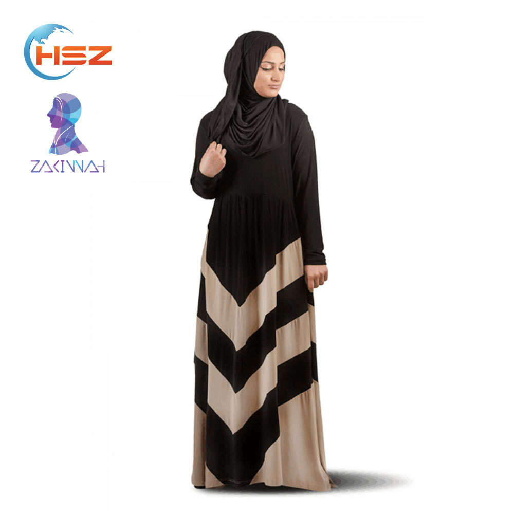 Zakiyyah F27 New islamic abaya and hijab designs moroccan style abaya dubai abaya 2016 dress baju kurung moden