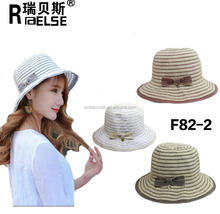 women plain leather hats cheap paper color straw hats