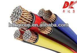 copper wire for jewelry/PVC insulated and sheathed ofc power cable