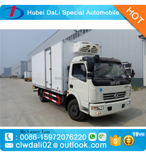 Dongfeng 3 CBM frozen food refrigerator truck/ice cream transportation truck body/cooling box truck