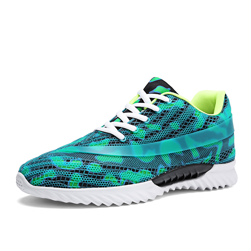 Latest Design Air Cushion Running Shoes Lightweight Athletic Shoes for Men