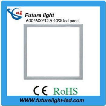square smd 2835 led 600x600 ceiling panel light