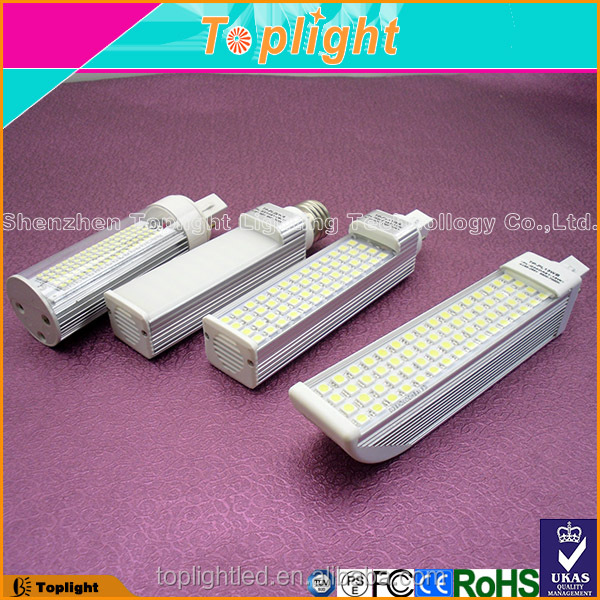 3 years warranty pll ce ROHS cULs E36/E27 5384 SMD g24 4pin 2pins led pl lamp