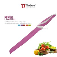 TJSK-A8 Bread Knife Color Coated Knife Non-Stick Coating 8""
