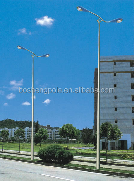 Electric Metal Lighting Post Pole