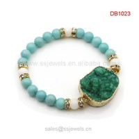 Import And Export Products In China Natural Gemstone Bracelets Druzy Stone Women&Men Bracelets
