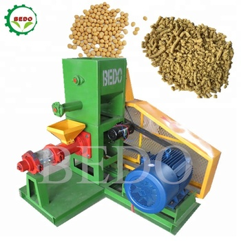 Soyabean Extruder Animal Feed Processing Machines