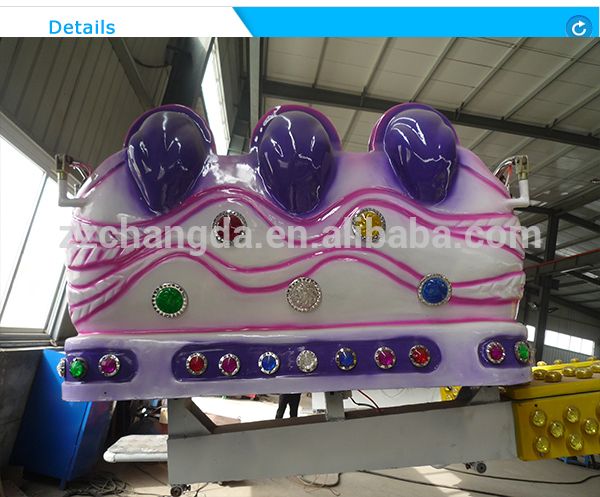 2018 amusement park equipment rides rotary bounce rides jumping machine