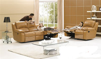 Modern electric leather couches recliner sofa sets(FOH-SF8251)