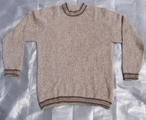 Peru Alpaca Wool Sweater