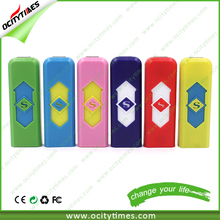 top selling charged electronic usb lighter/ Electric Rechargeable Lighter/ plastic cigarette lighter usb