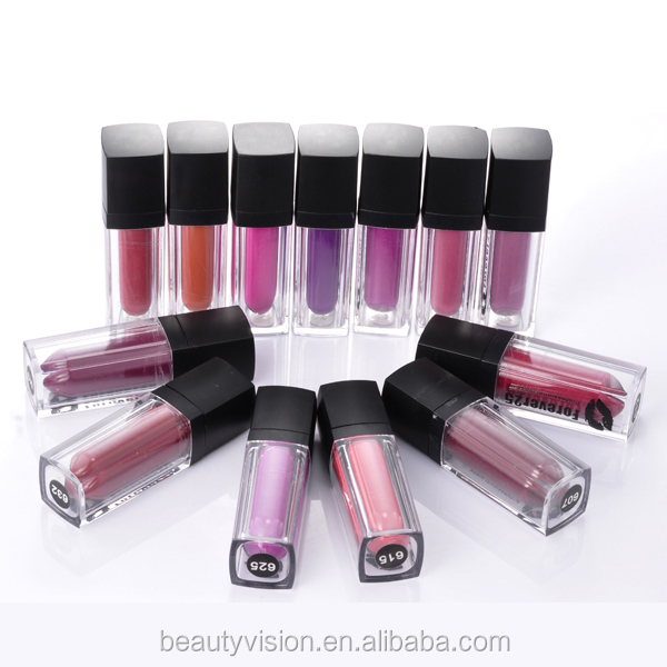 hot selling private label dry completely matte lipgloss