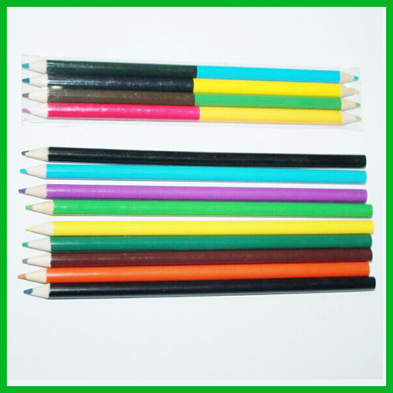 Double color HB Pencil in Color Box Packing
