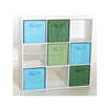 green 4-Pack Non-Woven Foldable storage cube