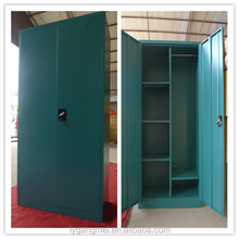 Metal clothes cabinet steel almirah designs for bedroom