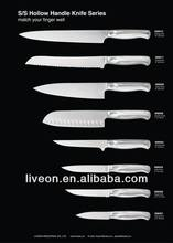 Hollow Handle Stainless Steel 3CR13 Chef Knife