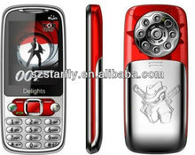 cheap mobile phone Unlocked 4 Band Mobile Phone Dual Sim Mp3 Mp4 Torch Bluetooth Camera GPRS Q007