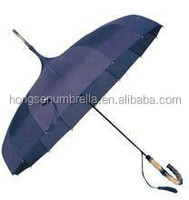 honsen High quality folding chair with umbrella goft windproof umbrella