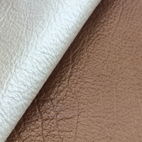 Glossy Finished Cow Skin Leather Material