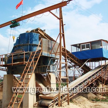 Great Wall Sand Making Line, Artificial Sand Making Line