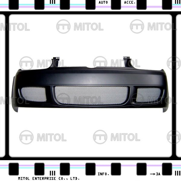 For VW Golf IV Front Bumper (R32 Look) W/ Alu. Mesh Car Body Kits