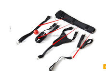 4 in 1 Nylon Restraint Clothing for Women Strap-on Harness For Virbators, Anal Beads, Vibrating Bullets and Dildos