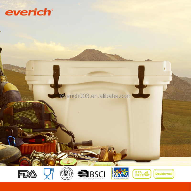 25L/35L/65L Insulated Rotomolded Camping Cooler Box with handle