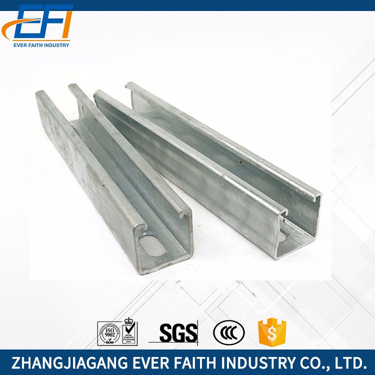China Manufacturer Hot Dip Unistrut Channels