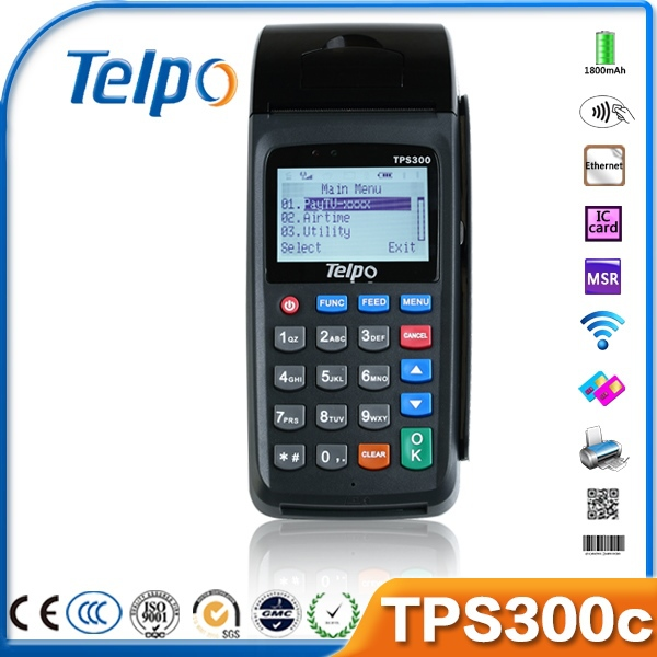 Convenience Stores mobile linux pos terminal with QR code scanner(Dubai USA CAF TUR MYS )