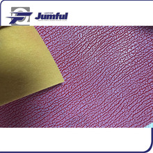 purple painted clarino leather scrap for sale