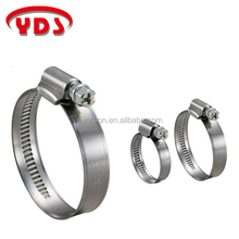 German heat solar water pump stainless hose clamp