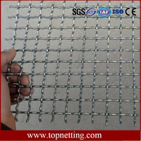 Food grade crimped wire mesh/stainless steel crimped mesh/crimped wire for fruit drying racks