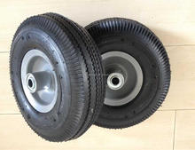 10 inch pneumatic wheel for wheel barrow hand trolley tire
