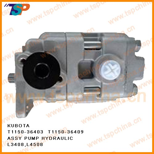 Tractor Hydraulic Pump Assy for  kubota  L2202