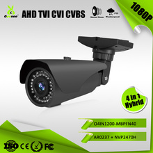 AHD TVI CVI CVBS Hybrid 4 in 1 security camera outdoor with 2.8-12mm zoom ahd camera 1080p