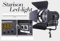 New! Pro As arri Bi-color 200W LED Studio Fresnel spot Light CE Certification