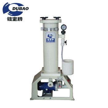 CE certificated professional acid/alkaline water filter machine for chemical industry