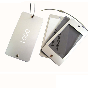 Aluminium luggage tag,promotion luggage tag