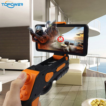 Wholesale Newest Products Smartphone Controlled The New Bluetooth 4Dandroid And Ios Game Player Ar Gun Toys With 20 More Games