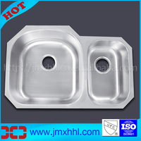 Stainless Steel 304 UPC 8153AL Bar Counter Wash Sink for China Kitchen Cabinet