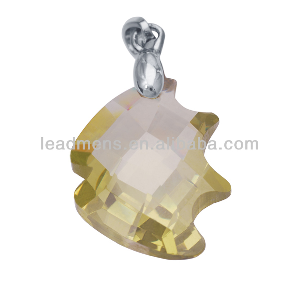 fish special shapes stones cubic zirconia gemstone CZ synthetic stone gems beads for jewelry making