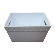 Corrugated plastic sheet made low price hard folding packaging plastic box