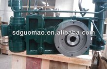 double screw plastic extruder reduction