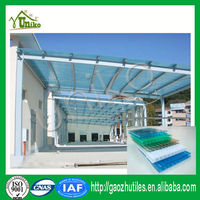 Double layer UV protection best price polycarbonate sun sheet