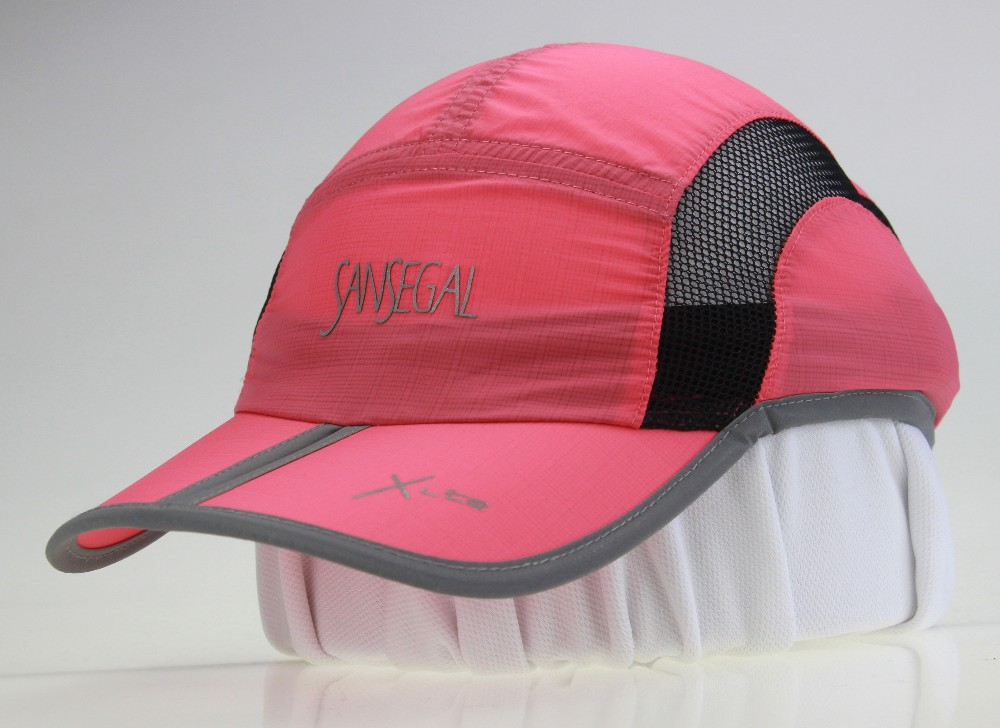 LED Light Polyester Summer Cycling Baseball Hat