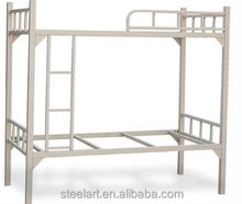 Powder coated metal double deck bed design